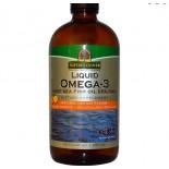 Vloeibare Omega-3, Natuurlijke Sinaasappel Smaak (480 ml)