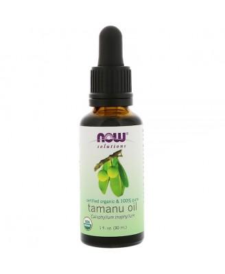 Certified Organic & 100% Pure- Tamanu Oil (30 ml) - Now Foods