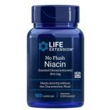 No-Flush Niacin (Inositol Hexanicotinaat) 800 mg - 100 Capsules - Life Extension
