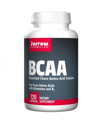 Jarrow Formulas, BCAA, Branched Chain Amino Acid Complex, 120 Capsules