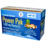 Trace Minerals Research, Electrolyte Stamina, Power Pak, Piña Colada, 32 Packets, 0.23 oz (6.5 g) Each