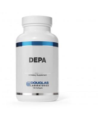 DEPA contient un concentré de lipides marins qui a été traité par distillation moléculaire. DEPA fournit les acides gras oméga-3, y compris l'acide eicosapentaénoïque (EPA, 18 %) et acide docosahexaénoïque (DHA, 12 %), dans leur forme de triglycérides.