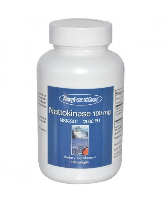 Nattokinase 50 mg NSK-SD 300 Veggie Caps - Allergy Research Group