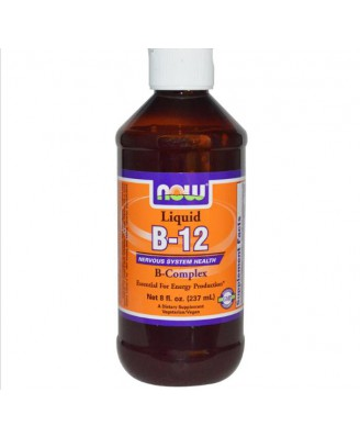 Now Foods, B12, liquide, complexe B, 8 fl oz (237 ml)