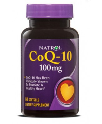 Natrol, CoQ-10, 100 mg, 60 Softgels