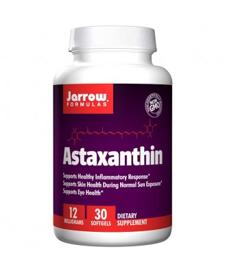 Astaxanthin 12 mg (30 softgels) - Jarrow Formulas