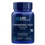 Pantotheenzuur (Vitamine B5) 500 Mg 100 Capsules - Life Extension