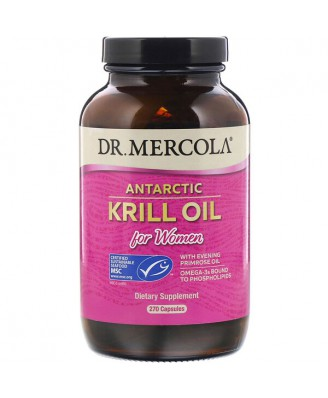 Dr. Mercola, Antarctic Krill Oil for Women, 270 Capsules