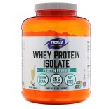 Whey Protein Isolate- Natural Vanilla (2268 gram) - Now Foods