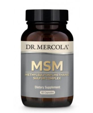 MSM with Organic Sulfur Complex (60 Capsules) - Dr. Mercola