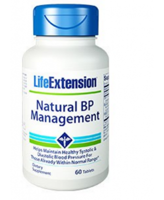 Natural Bp Management, 60 Comprimés - Life Extension