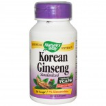 Nature's Way, Korean Ginseng Standardized, 60 Vcaps